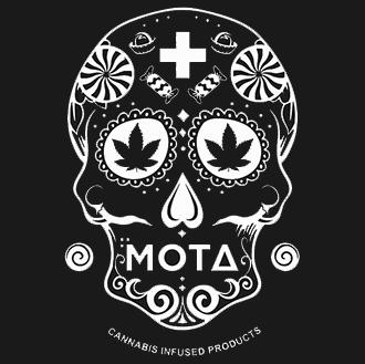 mota black logo