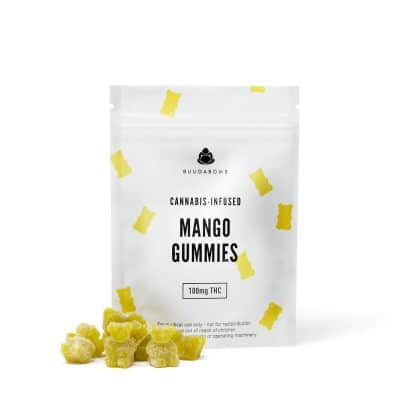 Buy BuudaBomb Mango Gummies Online Green Society