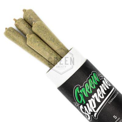 Buy Green Supreme Pre Rolls Online Green Society