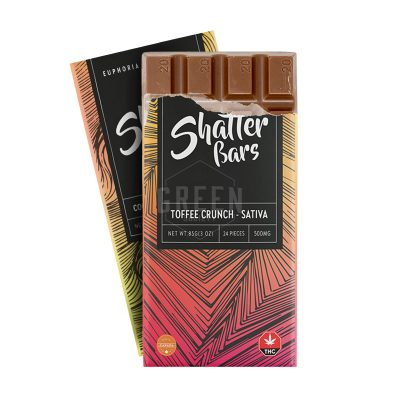 Buy Euphoria Extracts Shatter Bars Online Canada Green Society