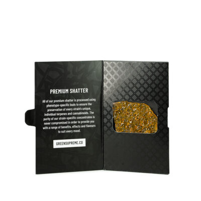 Buy Green Supreme Shatter Online Canada Green Society