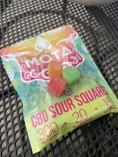 MOTA CBD Sour Squares photo review