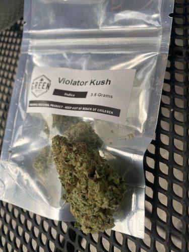 Violator Kush photo review