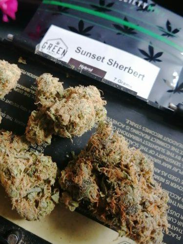 Sunset Sherbert photo review