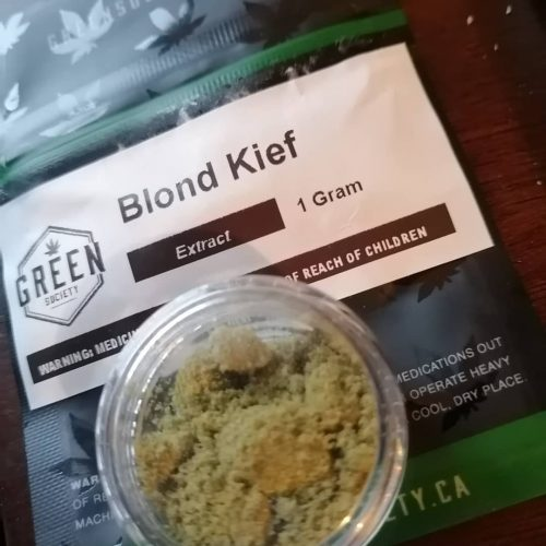 Blonde Kief photo review